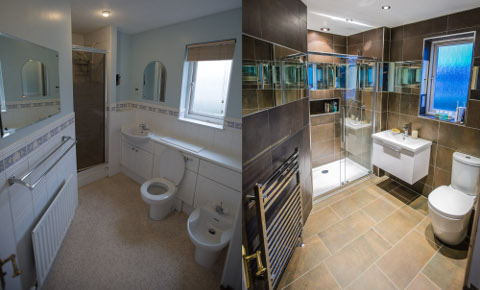 Bathroom fitters Haddington